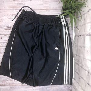 Adidas navy blue basketball shorts. Large